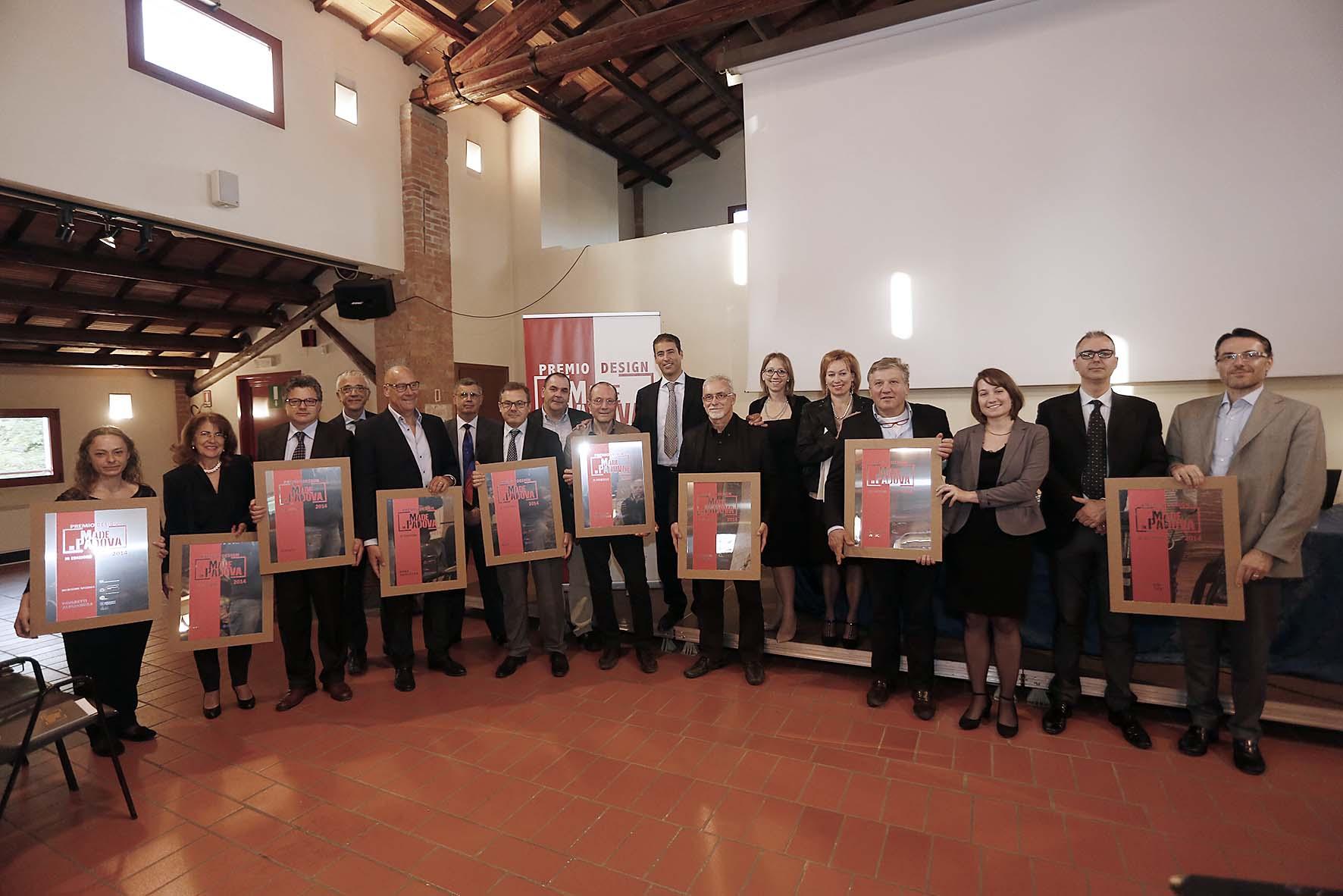 Rodolfo Cetera con tutti i premiati