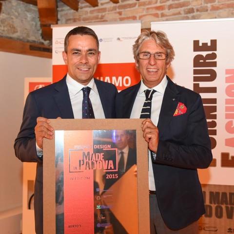 PremioMadeinPadova-premiato-BERTOS