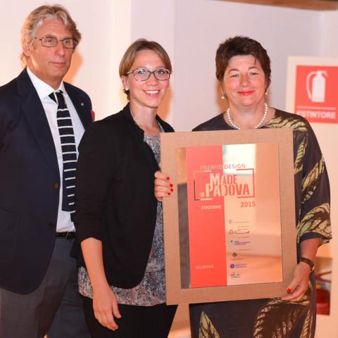 PremioMadeinPadova-premiato-VALBONA